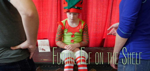 Future Elf on the Shelf
