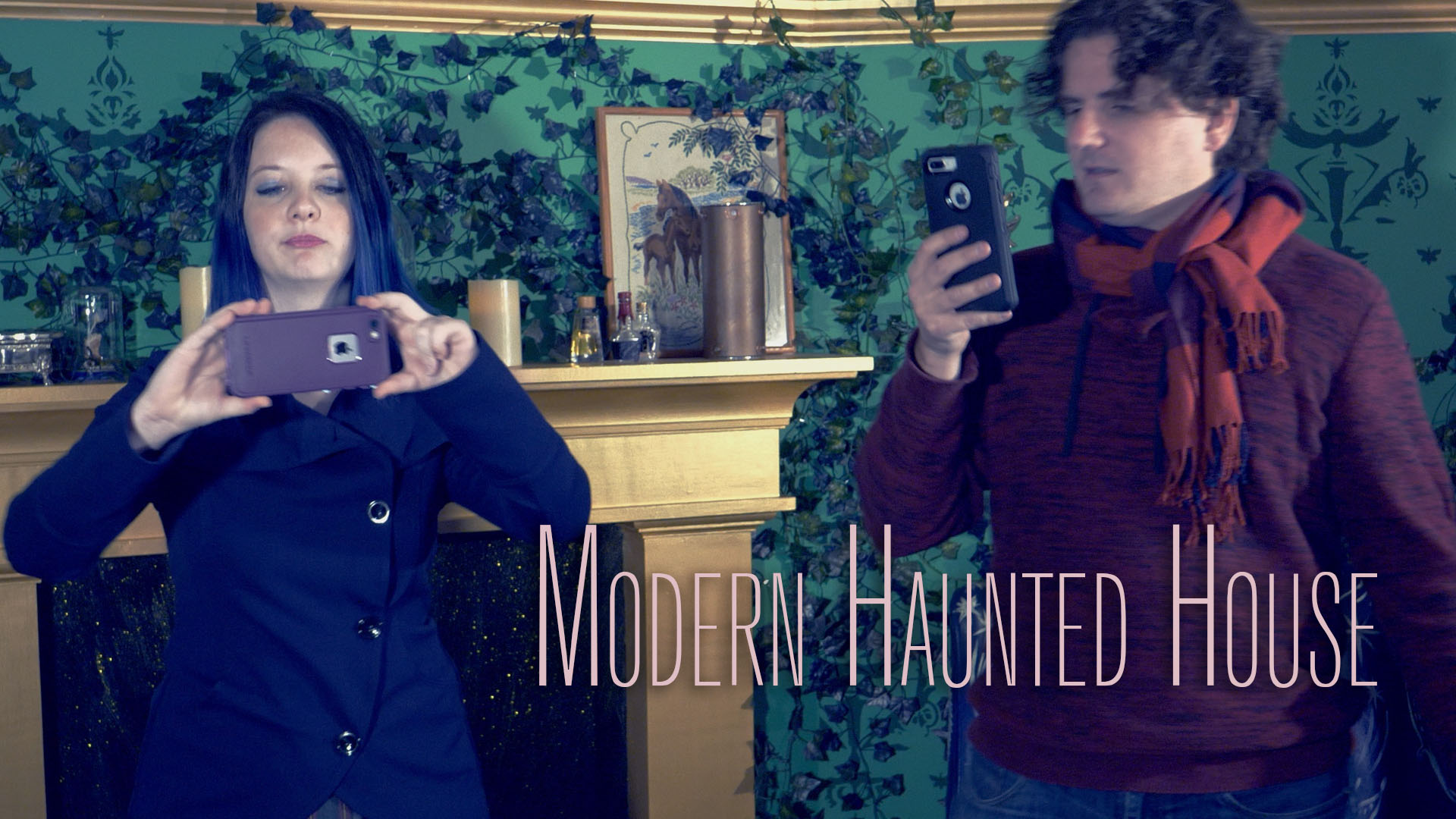 Modern Haunted House Thumbnail for YouTube